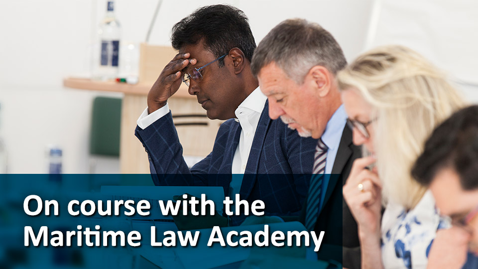Maritime Law Academy - Bulletin article